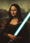mona lisa lightsaber lblue