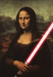 mona lisa lightsaber red