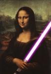 mona lisa lightsaber violet
