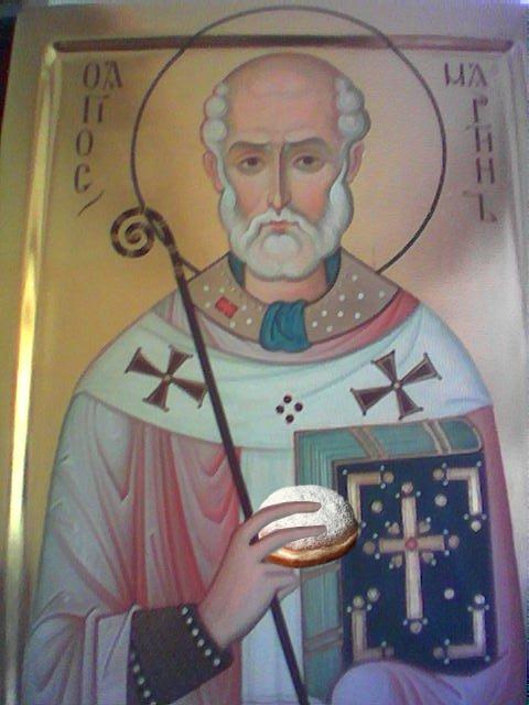 St. Matla - der Krapfen-Heilige