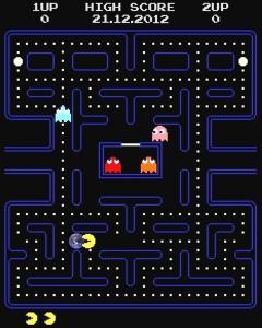 Weltuntergang durch Pacman