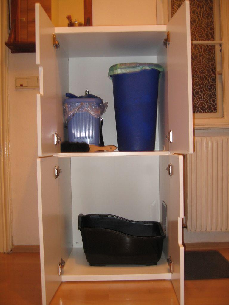 Katzenklo / Miststation – mein erster Ikea Hack | Krawutzi!