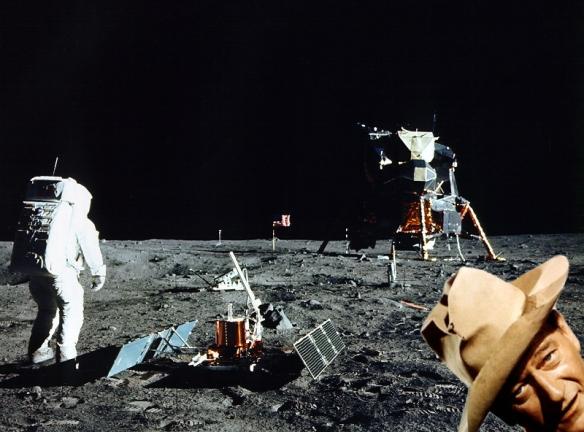 Mondlandungsfake John Wayne