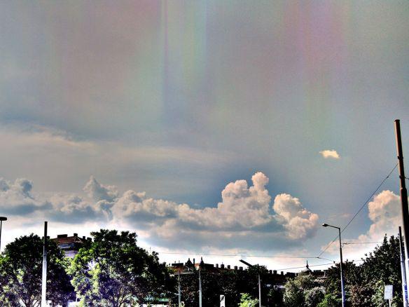 Wolkenstimmung Gaudenzdorf