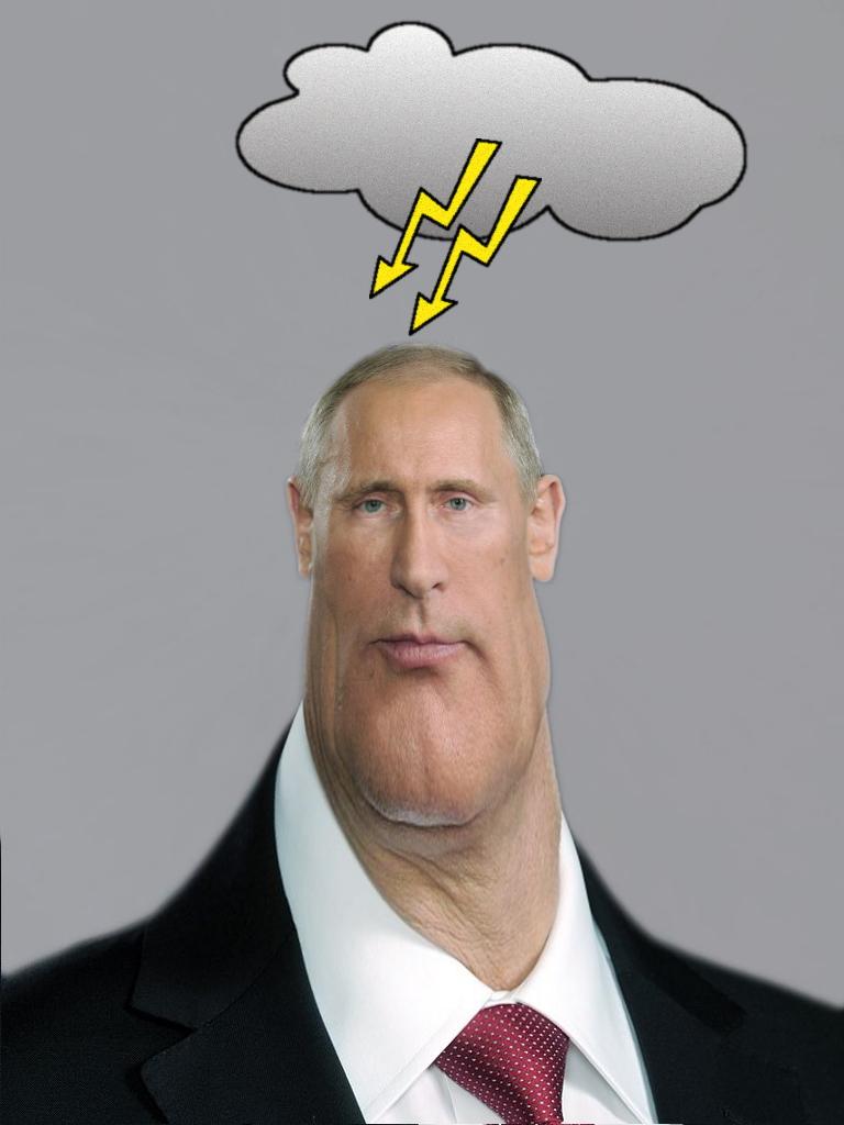 Putin böse