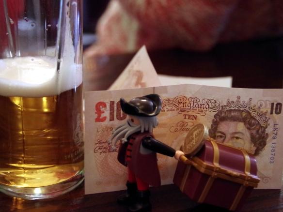 Pirat im Pub