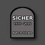 Sicher-Grabstein