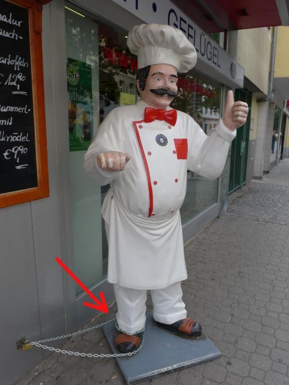 Koch in Ketten