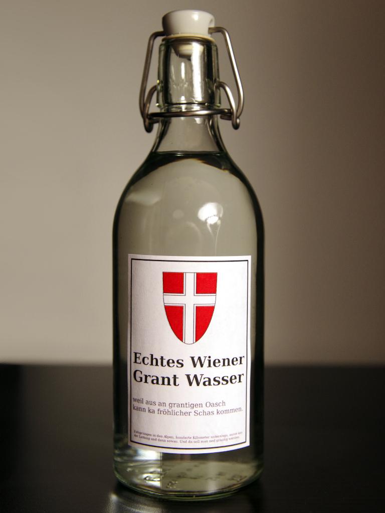 Echtes-Wiener-Grant-Wasser